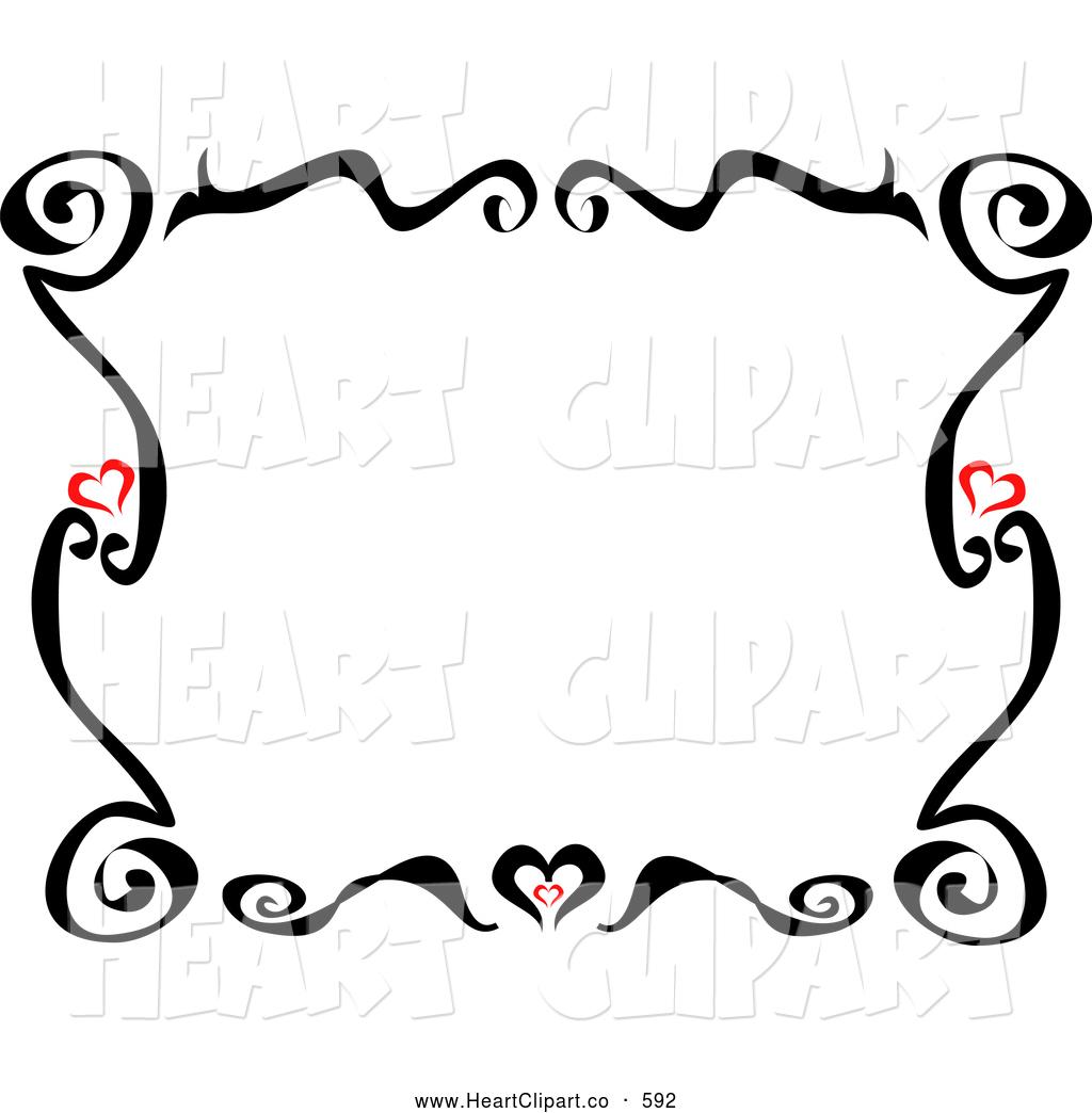 1024x1044 Czeshop Images Heart Border Clip Art Black And White