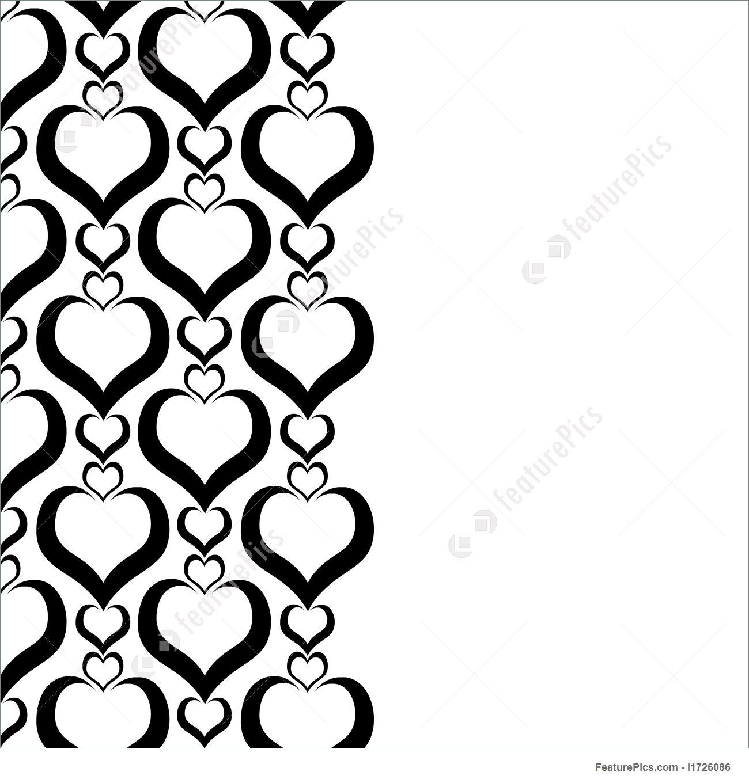 1300x1360 Love Border Illustration