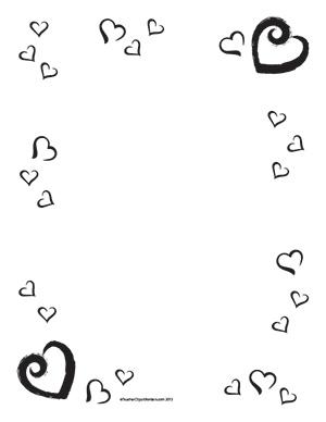 300x388 Valentine#39s Hearts