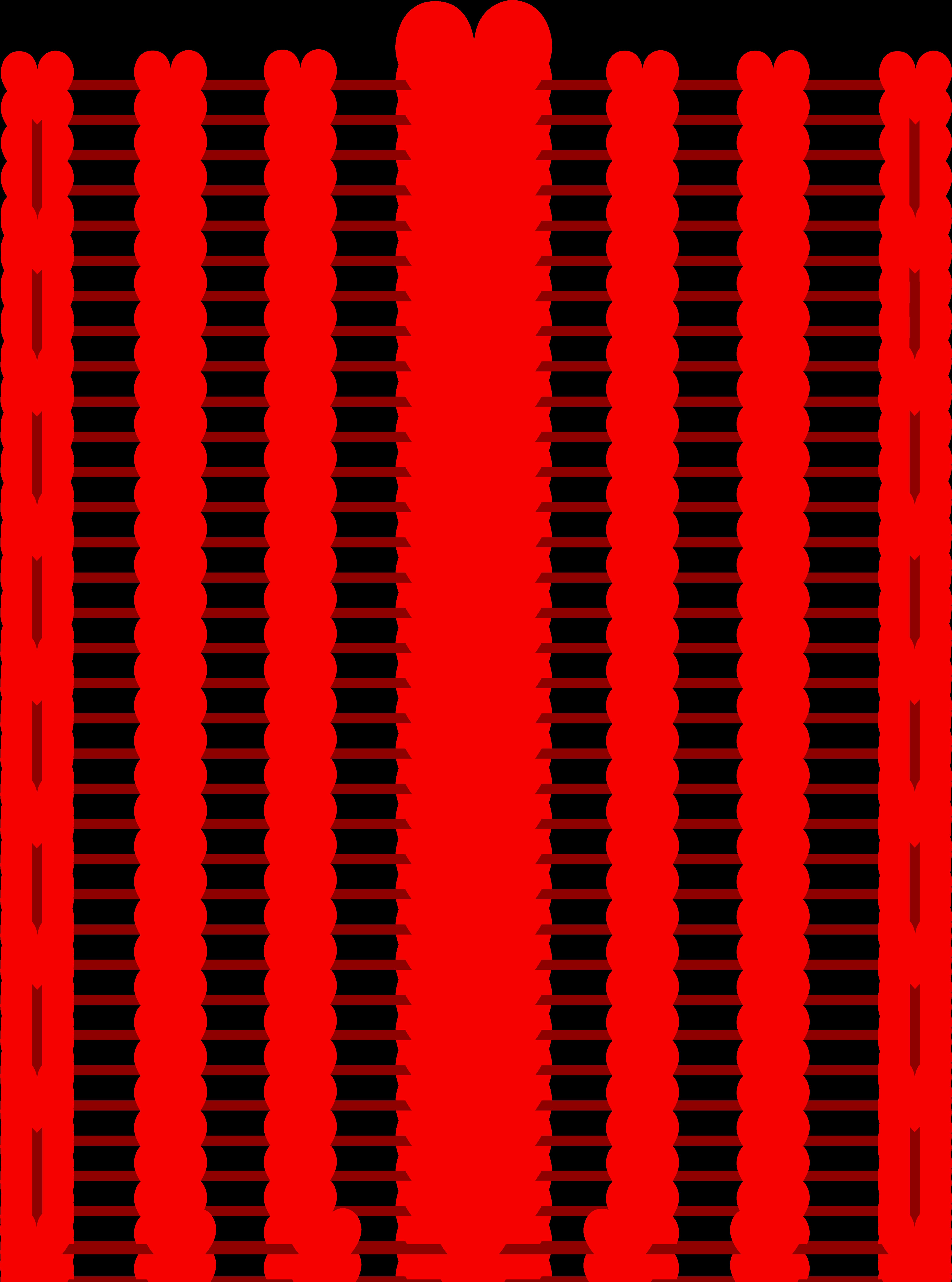 5952x8014 Heart Border Clip Art Clipart Panda