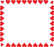 190x168 Heart Borders Cliparts#220587