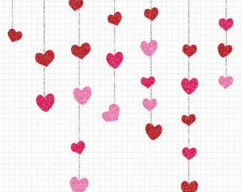 340x270 Valentine's Border Cliparts