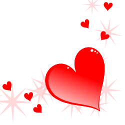 250x250 Free Borders And Clip Art Heart Themed Clip Art And Borders