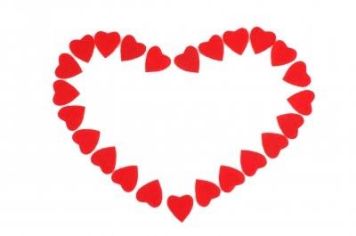 400x265 CLIP ART BORDERS Heart Clip Art Borders