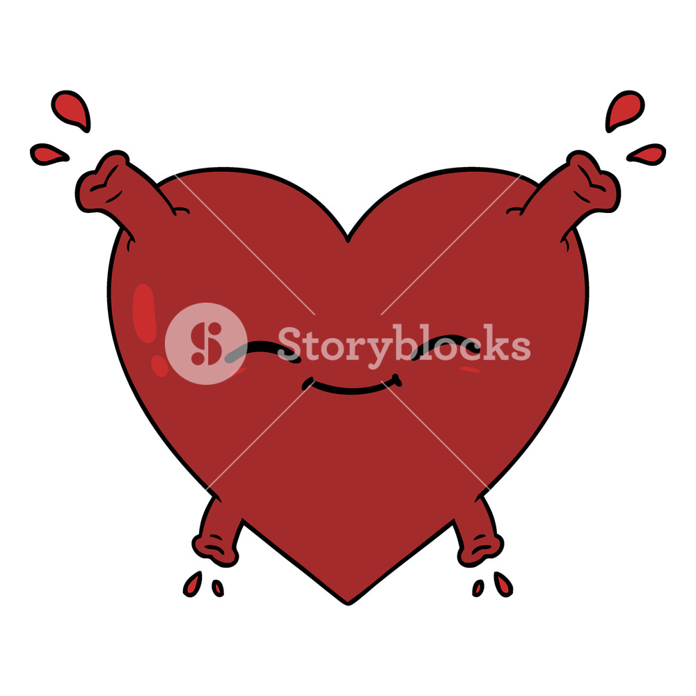 1000x1000 Happy Heart Royalty Free Stock Image