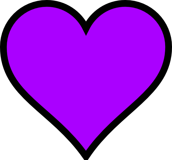 600x557 280 Purple Heart Clip Art