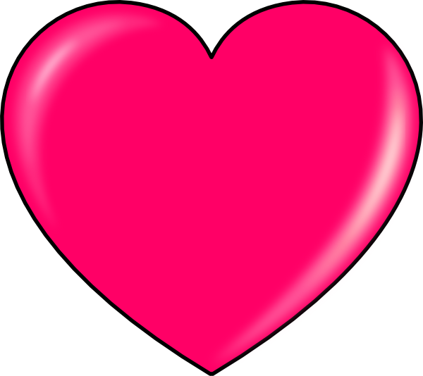 600x534 Secretlondon Pink Heart Clip Art