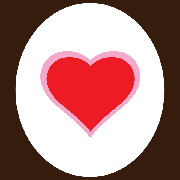 600x600 Heart Cartoon Animal Logo