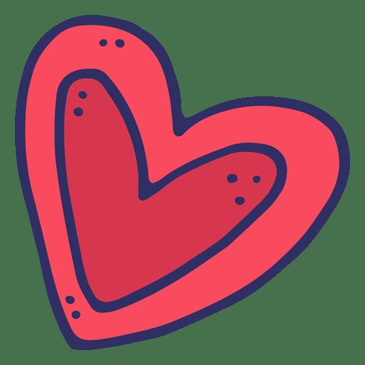 512x512 Love Heart Cartoon