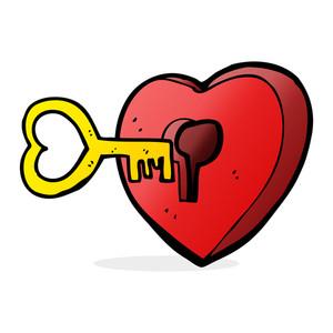 300x300 Cartoon Heart Royalty Free Stock Image