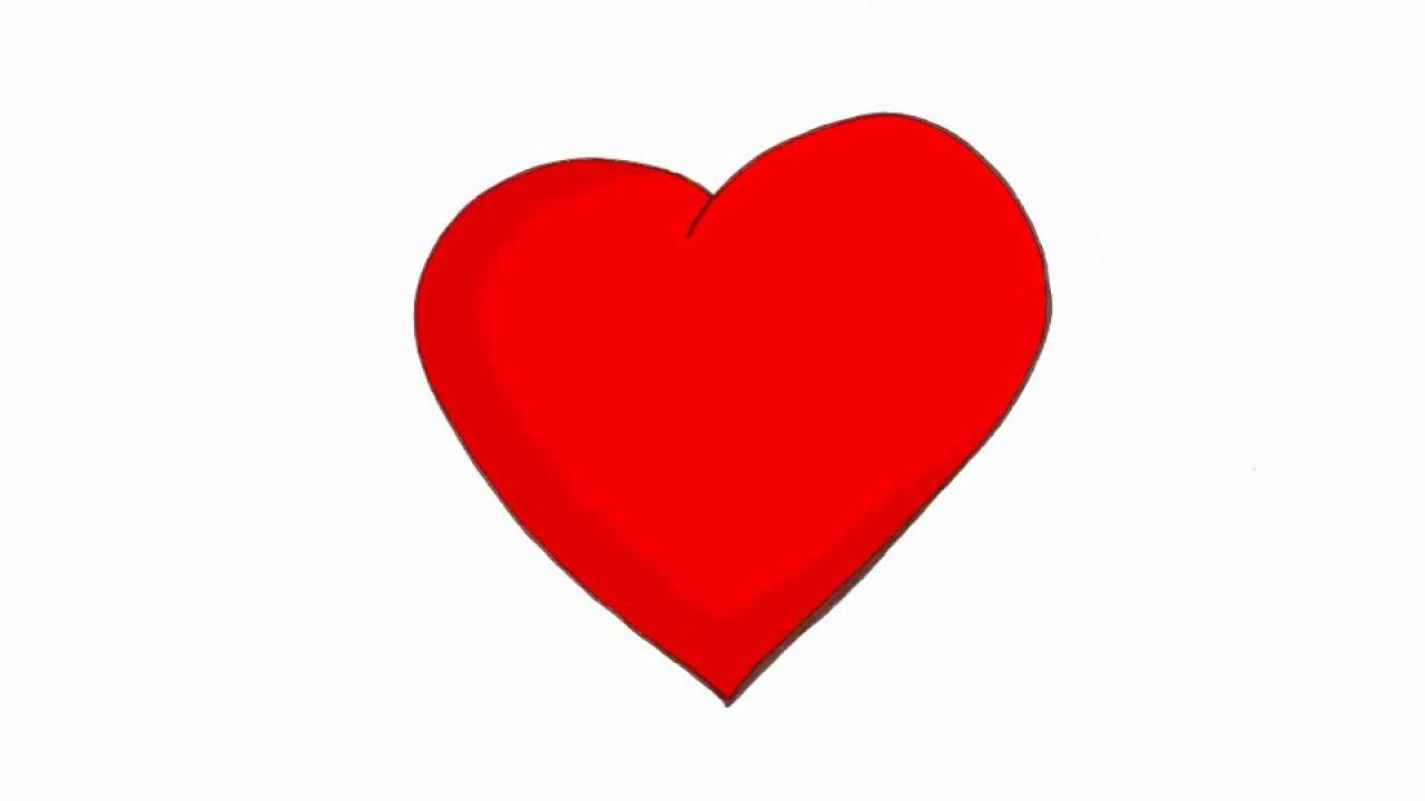 1280x720 Heart Beat Cartoon