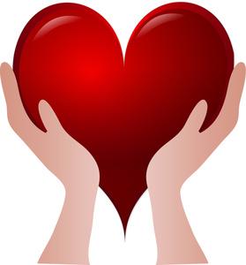 279x300 Hands Holding Heart Clipart 101 Clip Art