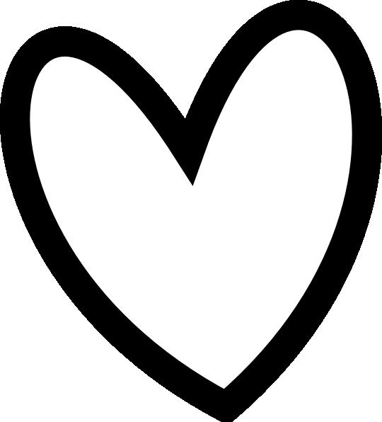540x596 Heart Clip Art Biezumd