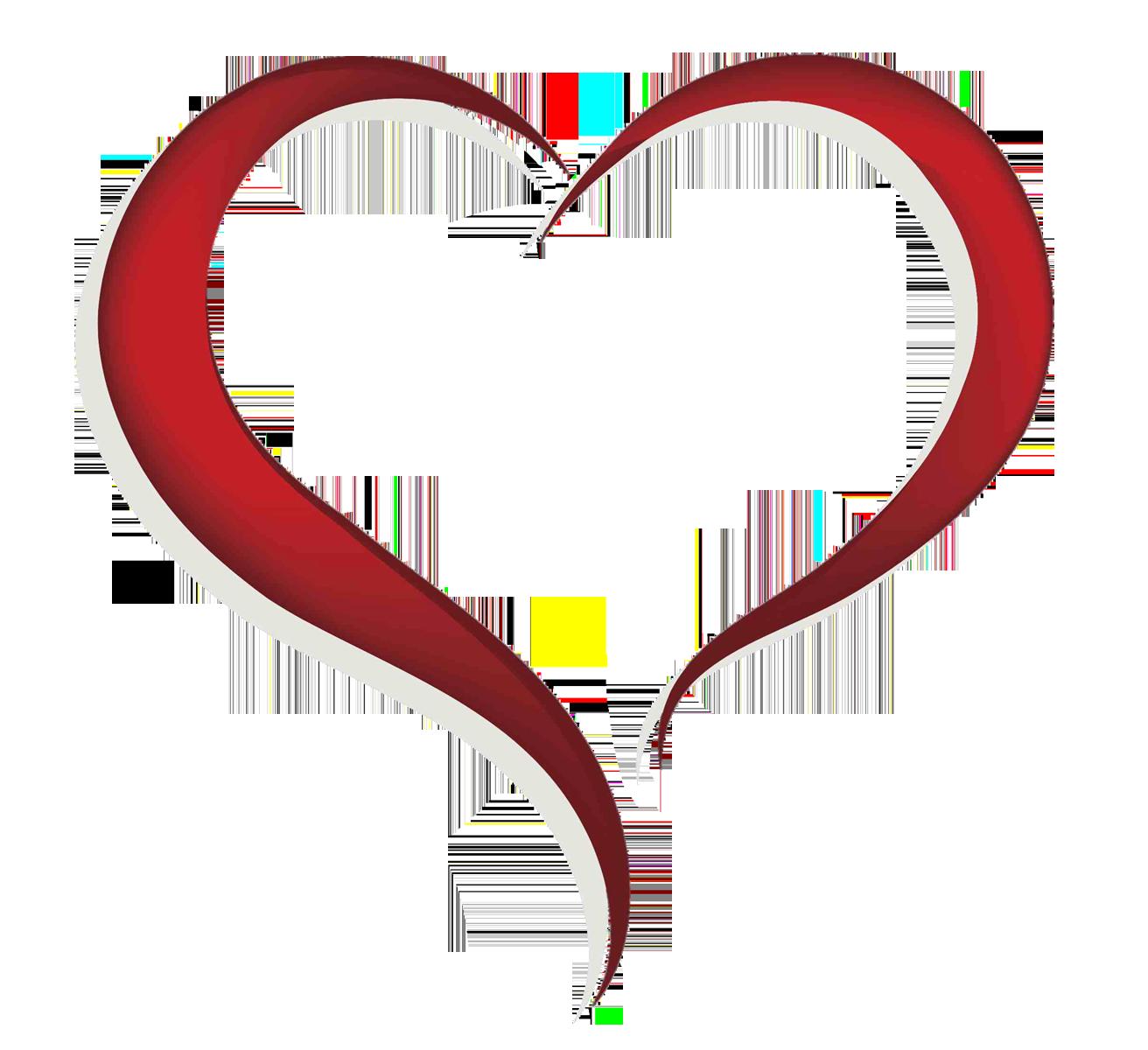 1312x1200 Heart Clipart Free