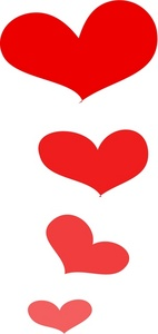 Heart Clipart Red   Free download on ClipArtMag
