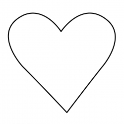 250x250 Mesmerizing Big Image Clipart Heart Outline To Grande