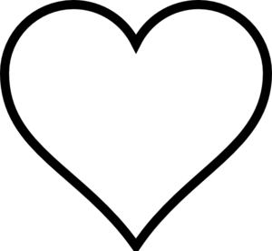 300x276 Heart Clip Art
