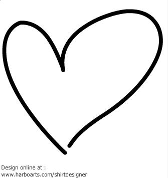 335x355 Heart Clipart Hand Drawn