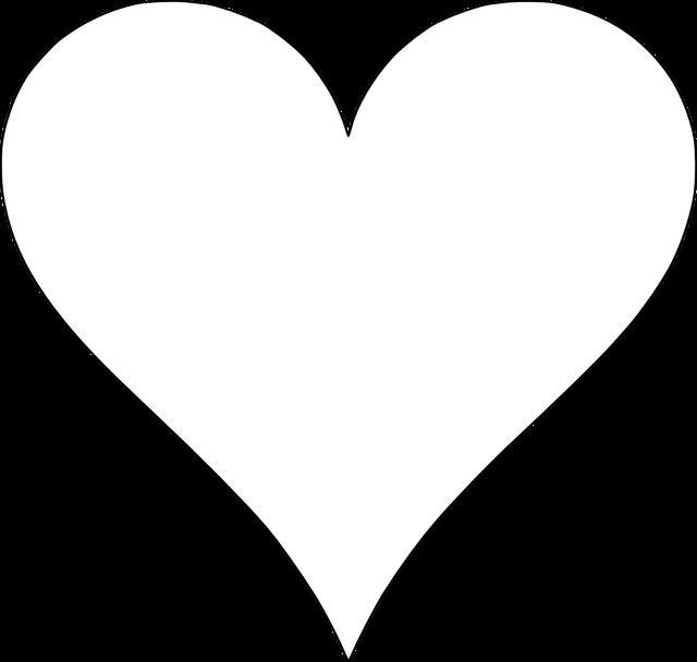 640x608 Best Heart Template Ideas Printable Heart