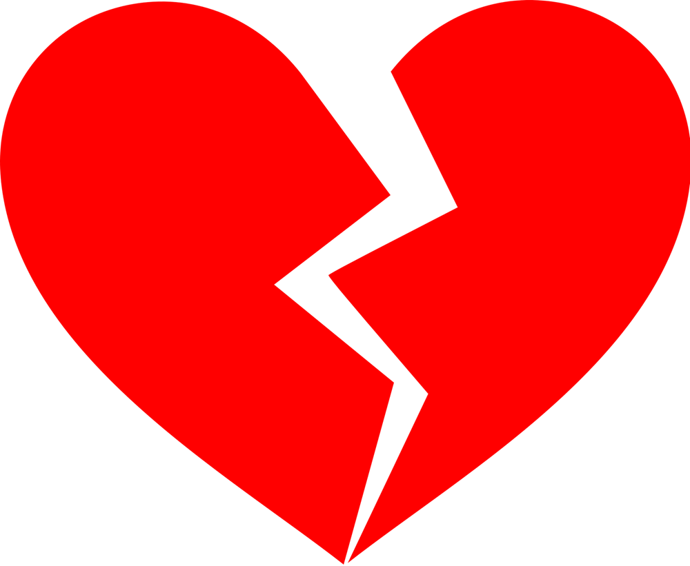 1000x821 Broken Heart Clipart Friendship Heart