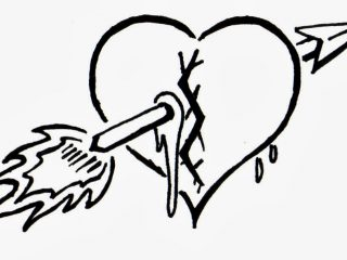 320x240 Coloring Pages Broken Heart Coloring Pages Drawn Page 8 Broken