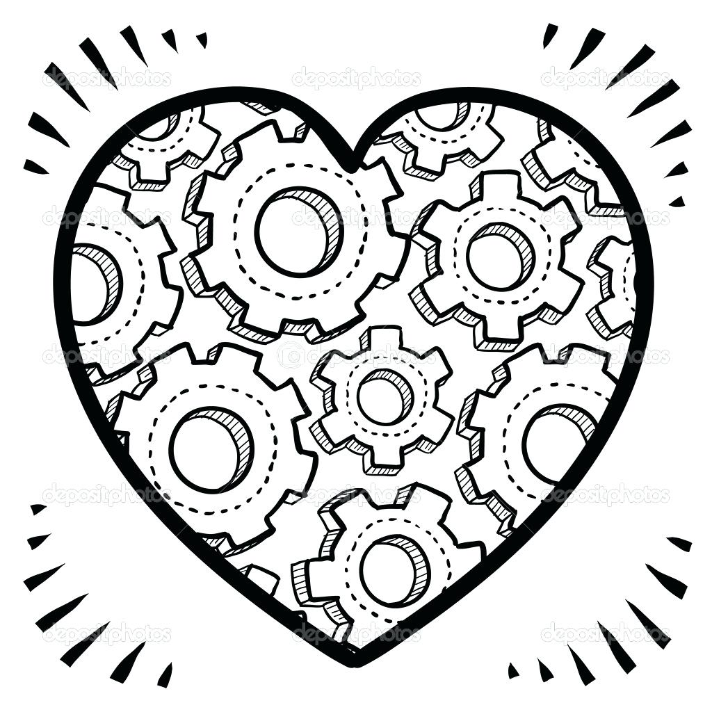 Heart Coloring Pages Free Download Best Heart Coloring Pages On