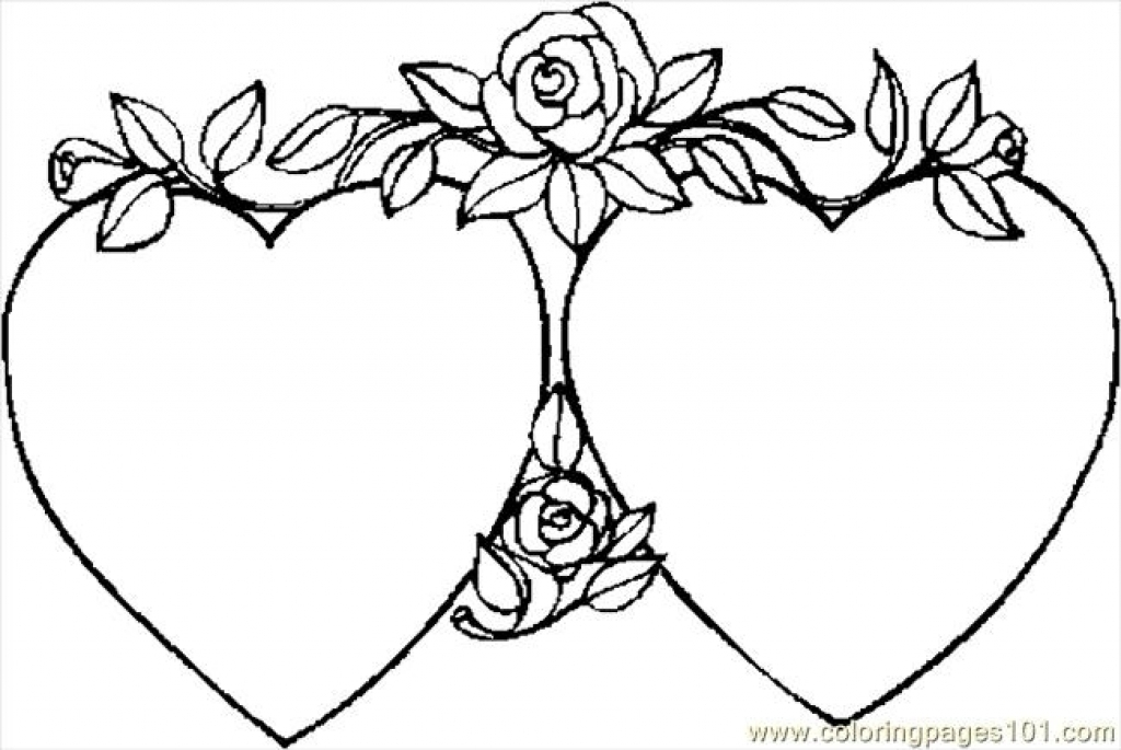 Heart Coloring Pages   Free download best Heart Coloring Pages on ...