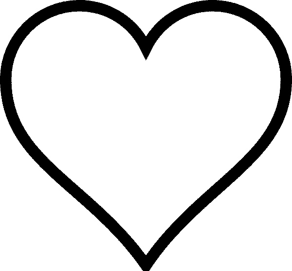 Heart Coloring Pages | Free download on ClipArtMag