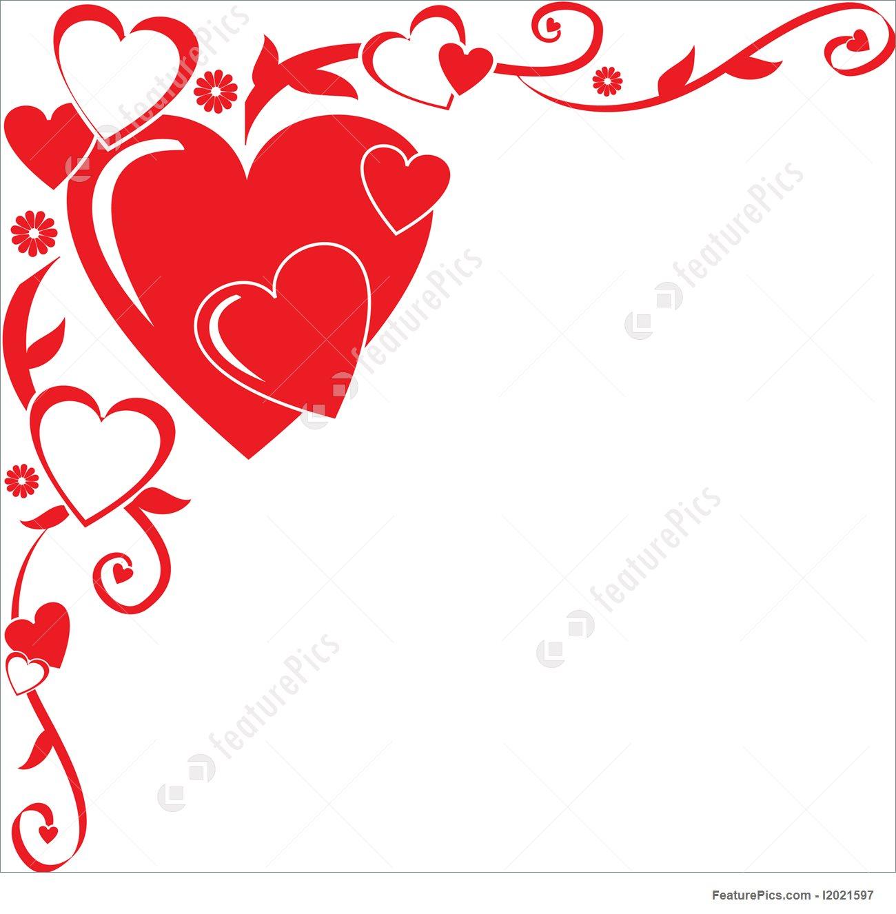 Heart Corner Border | Free download best Heart Corner Border on ...