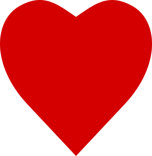 500x512 Clipart picture of heart