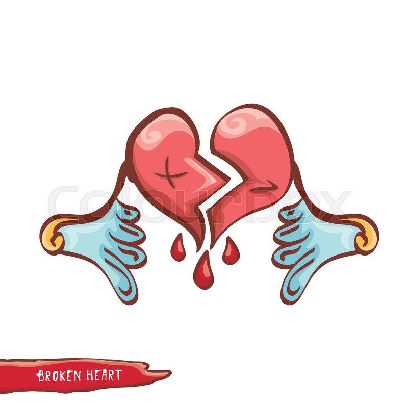 800x800 Broken Heart Clipart Heart Disease 2628882