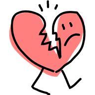 192x192 Broken Heart Clipart Heart Disease