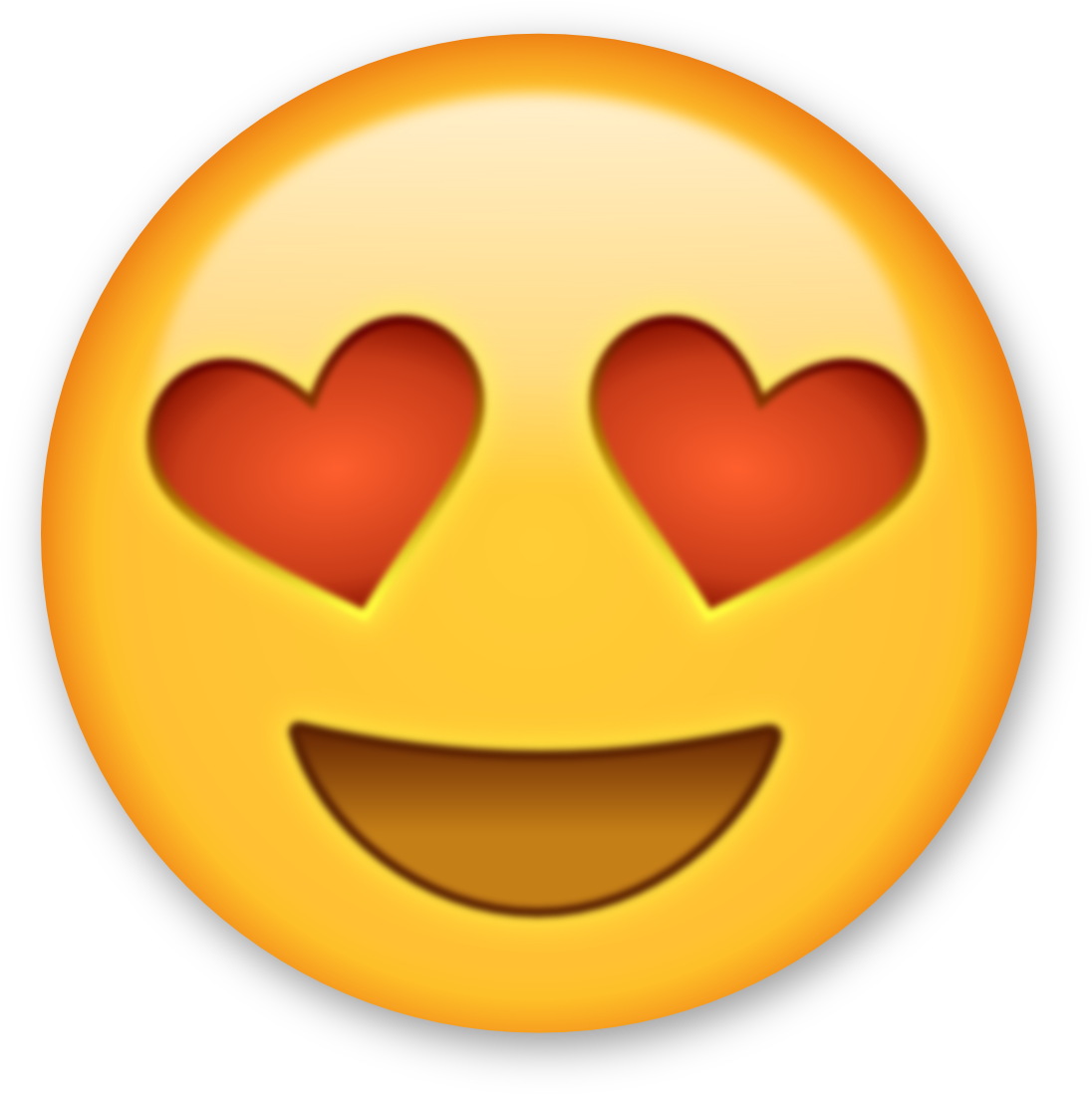 Heart Eyes Emoji Clipart | Free download best Heart Eyes Emoji