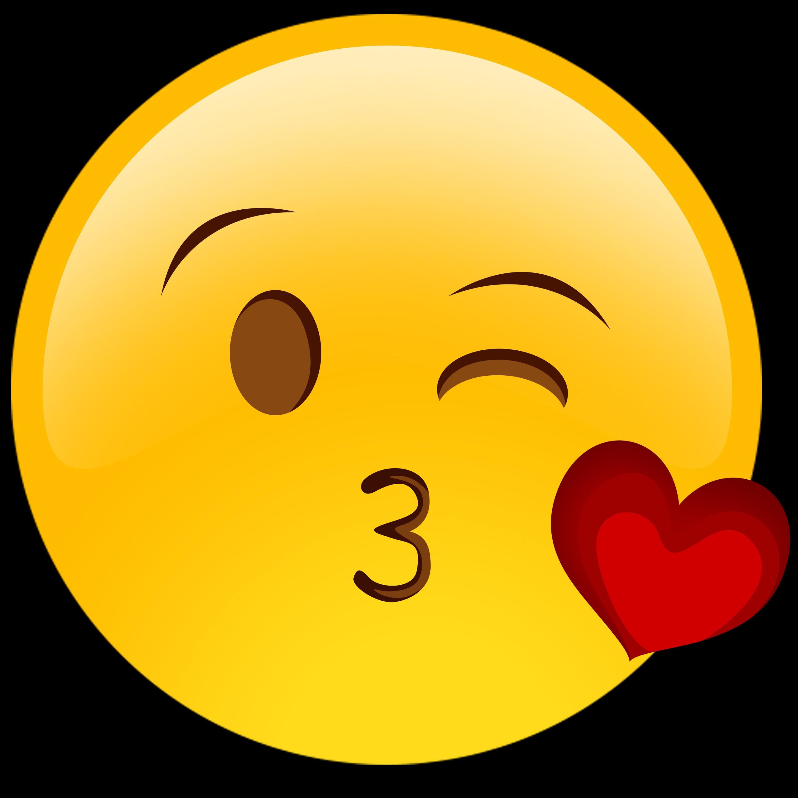 emoji kiss carita clipart feliz emojis smiley faces face heart clip emoticon kissing eyes cliparts para cara emoticones happy con