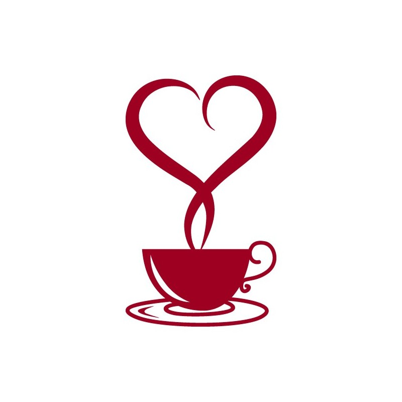 800x800 Coffee Clip Art Heart Cliparts