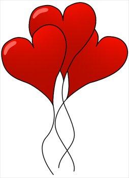 254x350 Hearts Clip Art Free
