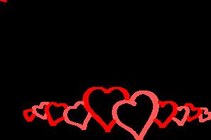 298x198 Hearts Clip Art