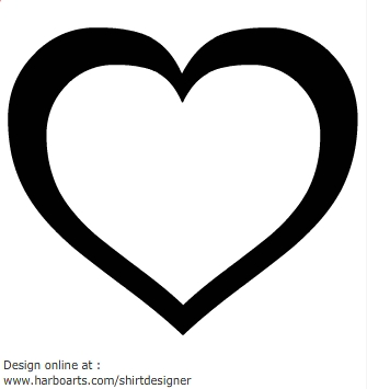 335x355 Vector Clipart Heart