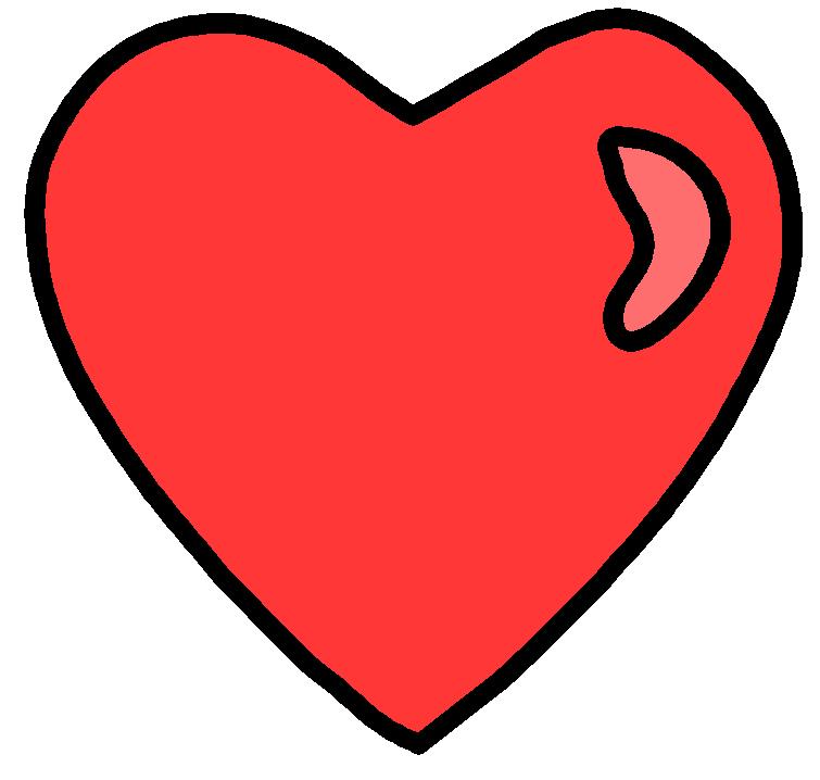 755x718 heart clip art