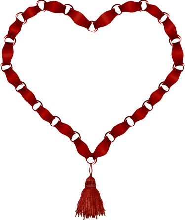 Heart Necklace Clipart