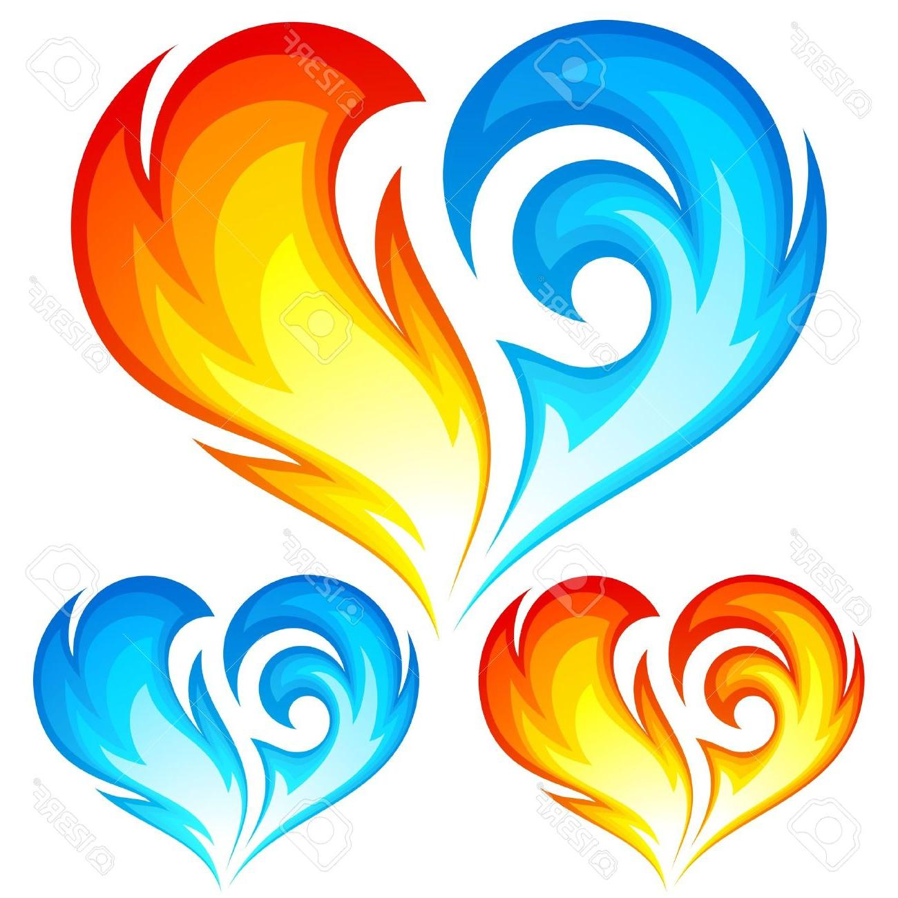Heart On Fire Clipart | Free download on ClipArtMag