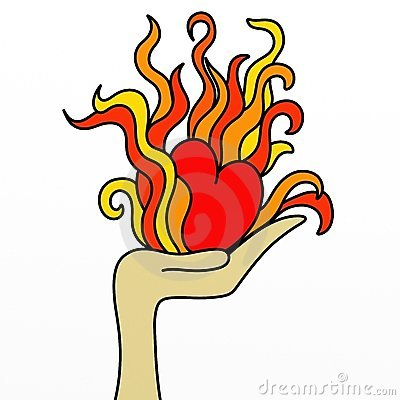 400x400 Hearts On Fire Clipart, Free Hearts On Fire Clipart