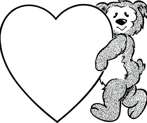 600x500 Clipart Heart Pin Hook Heart 2 Small Clipart Heart Outline