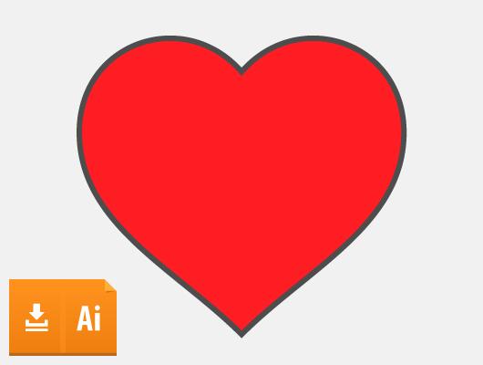 530x400 15 Vector Hearts (Ai, Eps)