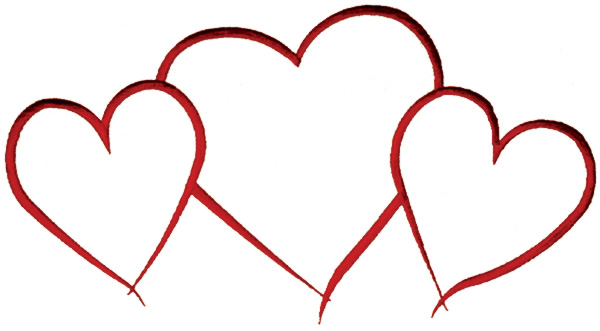 Heart Outline Vector Free Download Best Heart Outline Vector On