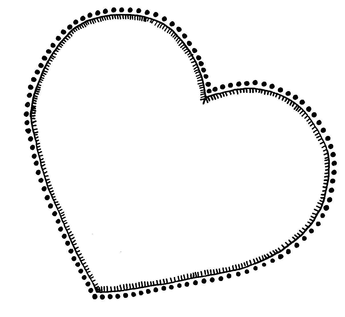 1207x1110 Heart Outline Vector Download 1 Vectors Page