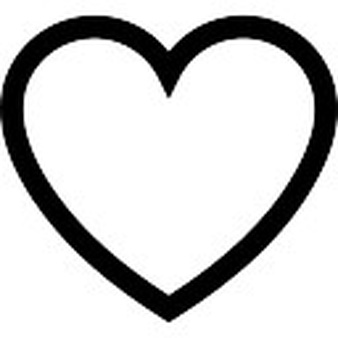 338x338 Clipart Outline Heart, Free Clipart Outline Heart