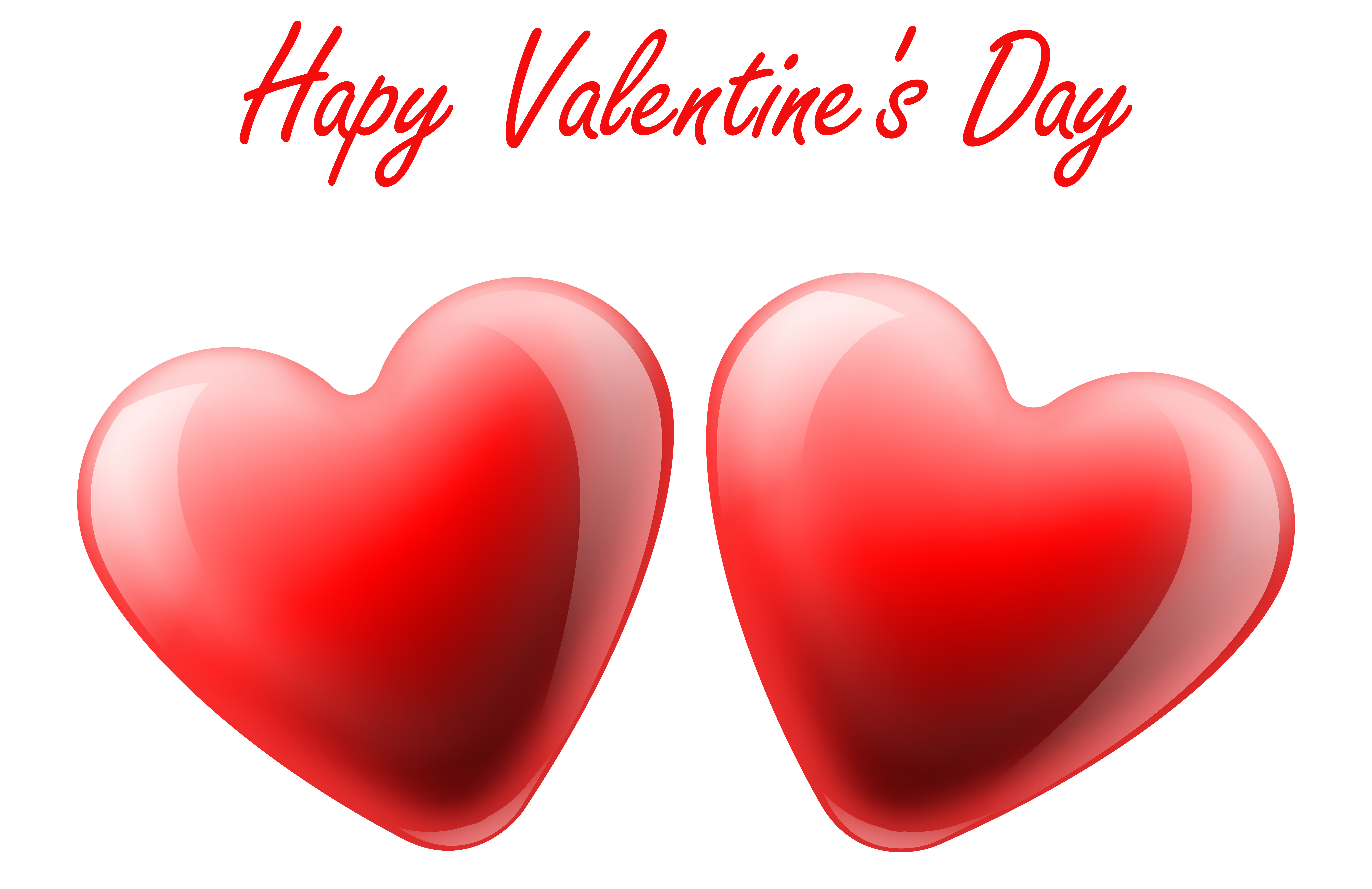 8000x5187 Love Clipart Happy Valentine Heart