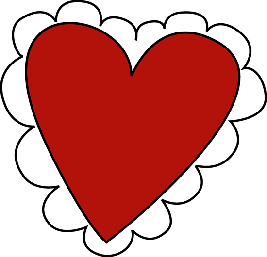 550x530 Valentine's Day Heart Clip Art