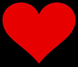 300x258 Valentine Heart Clipart
